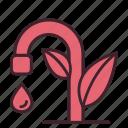 drop, eco, ecology, life, natural, tap, water