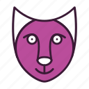 animal, cat, environment, fauna, mammal, nature, pet icon