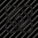 atom, core, eco, energy icon