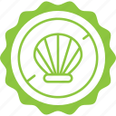 crossed, sea, seafood, shell, shellfish, shrimp icon