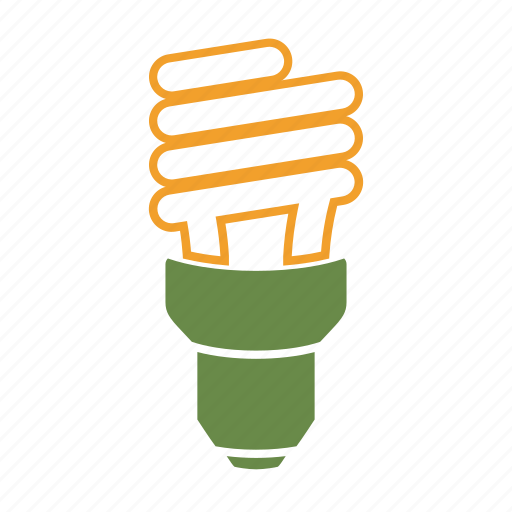 cfl, eco, eco friendly, energy saving, environmentally friendly, green, idea, light, on icon