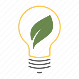 eco, eco friendly, energy efficient, environmental, idea, innovation, innovative, leaf, lightbulb icon