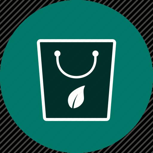 bag, eco bag, recycle, tote icon