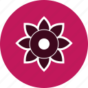flower, green, nature icon