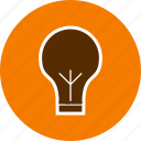 bulb, eco bulb, light, light bulb icon