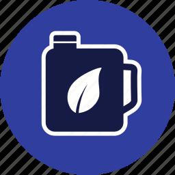 eco fuel, gasoline, oil icon