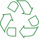 eco, ecology, garbage, recycle, recycle sign, recycling, trash icon