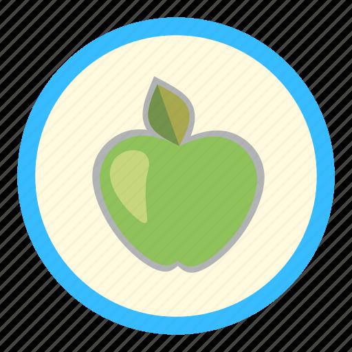 apple, eco, greengrocery, health, nature icon