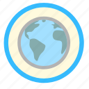 earth, ecology, global, planet, world icon