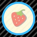 berry, grow, strawberry