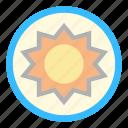 beach, solar, sun