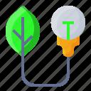 bulb, eco, ecology, light icon