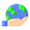 earth, ecology, save, world icon
