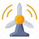 energy, power, turbine, windmill icon