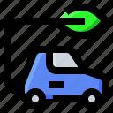 car, eco, ecology, vehicle icon