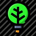 bulb, ecology, idea, light icon