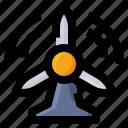 energy, power, turbine, windmill
