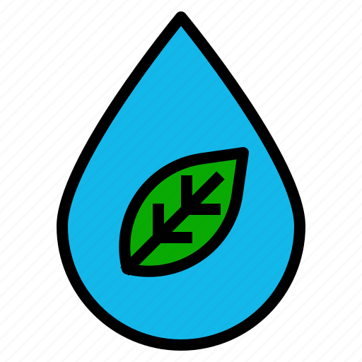 ecology, water icon