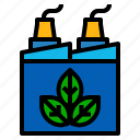 ecology, factory icon