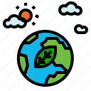 ecology, golbe icon