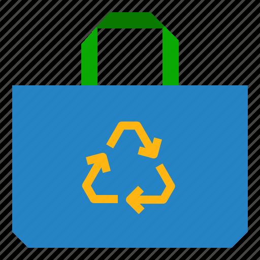 bag, eco, reuse, shopping icon