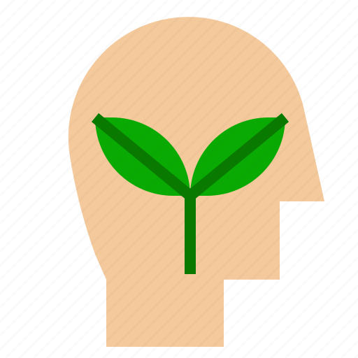 care, ecology, plant, think icon