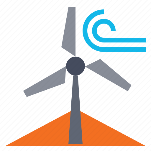 eco, ecology, power, wind, windmill icon