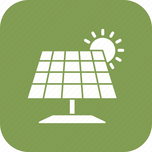 energy, power, solar energy, solar panel icon