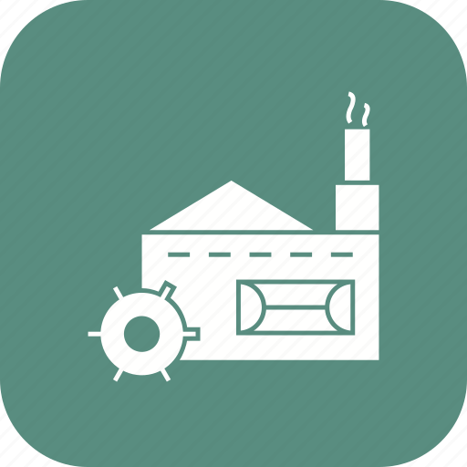 factory, industry, mill, production icon