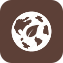eco world, ecology, environment, globe icon