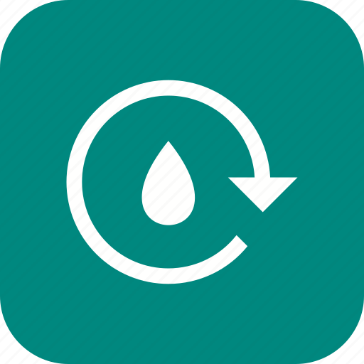eco, ecology, recycle water, save water icon