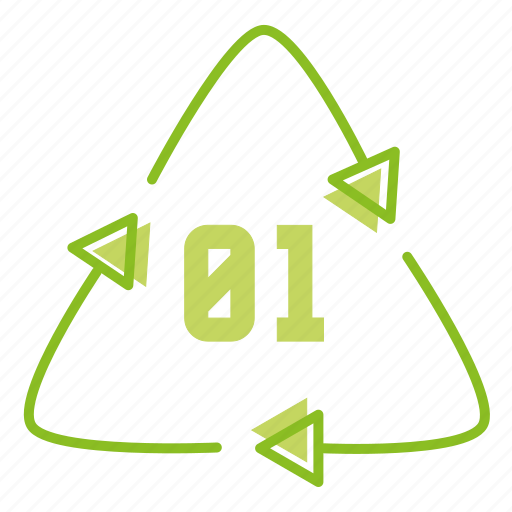 eco, ecology, energy, green, marking, packing container, plastic icon