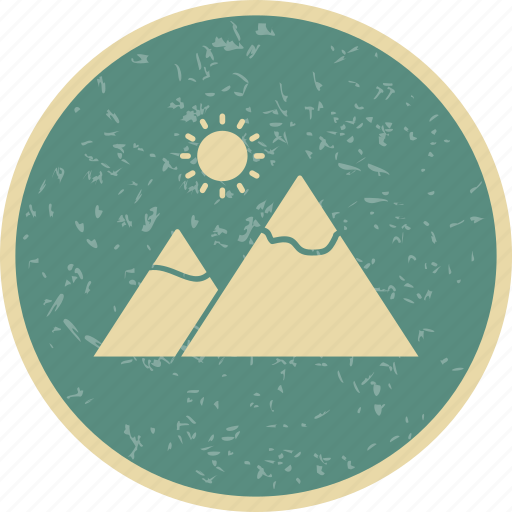 ecology, gallery, mountain, nature icon