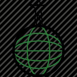 earth, eco, human icon