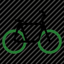 bicycle, bike, cycle, eco, ecology, nature icon