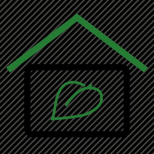 eco, ecology, environment, home, house icon