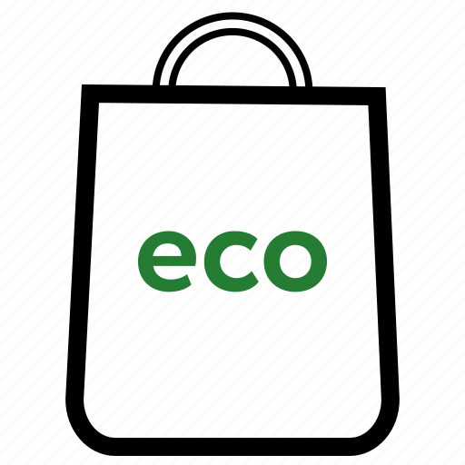 bag, eco, ecology, environment, nature icon