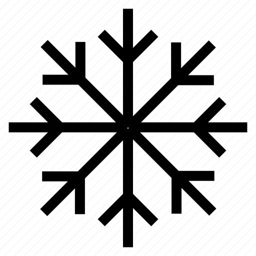 cloudy, snow, snowflake, weather icon