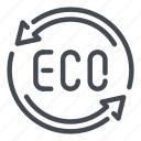 eco, ecology icon