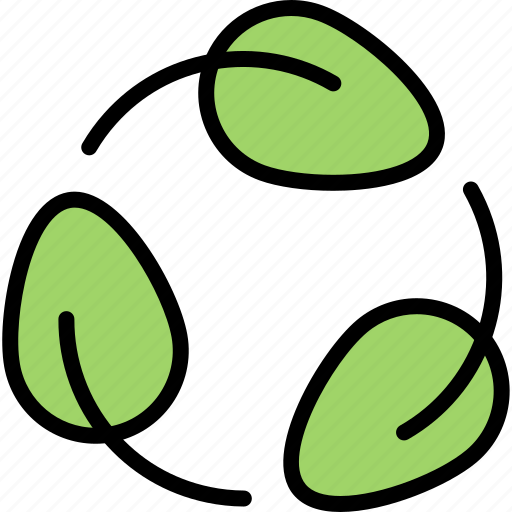 Eco, ecology, green, leaf, nature, recycling icon - Download on Iconfinder