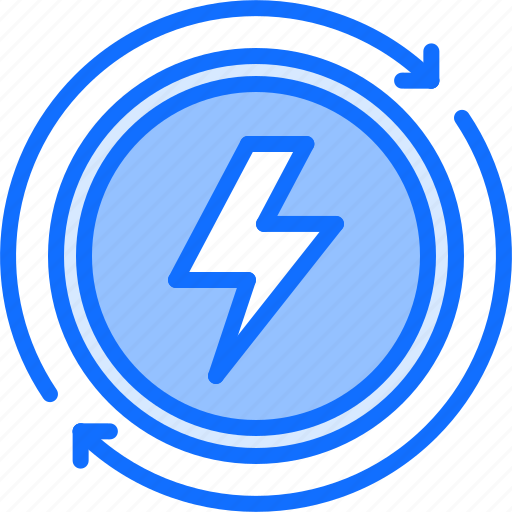 Eco, ecology, electricity, energy, green, nature, renewable icon - Download on Iconfinder