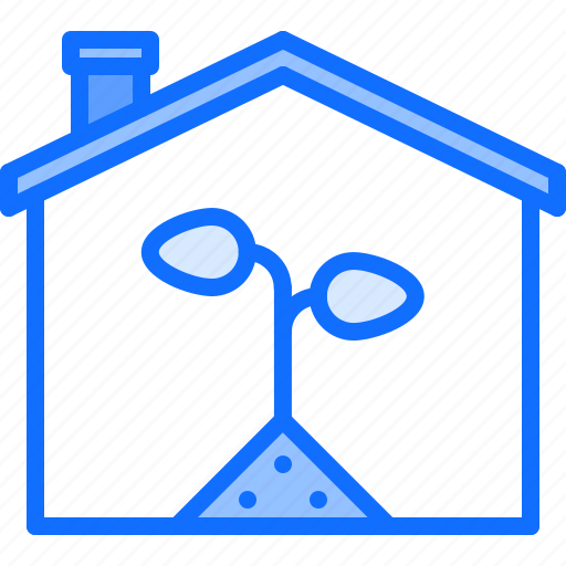 Eco, ecology, green, house, nature, plant, sprout icon - Download on Iconfinder
