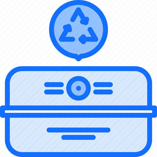 Boxrecycling, cardboard, eco, ecology, green, nature icon - Download on Iconfinder