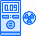 counter, eco, ecology, geiger, green, nature, radiation icon