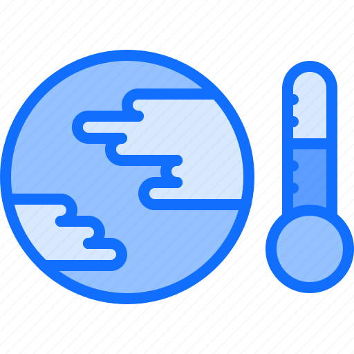 Eco, ecology, green, nature, planet, temperature, warming icon - Download on Iconfinder
