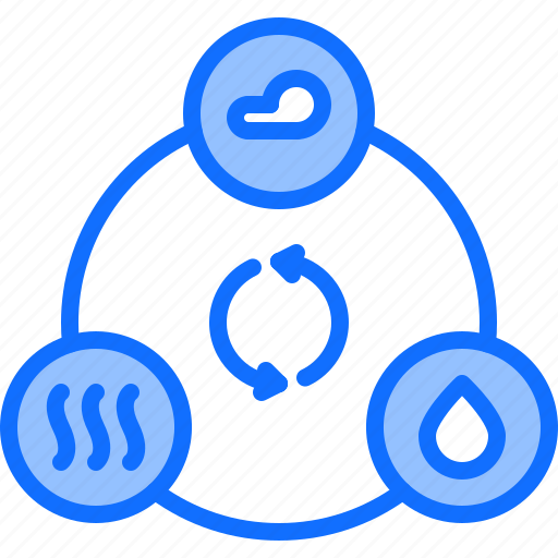 Cloud, eco, ecology, green, nature, recycling, water icon - Download on Iconfinder
