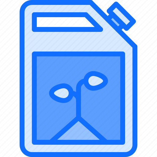 Canister, eco, ecology, fuel, green, nature, plant icon - Download on Iconfinder