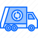 car, eco, ecology, green, nature, trash, truck