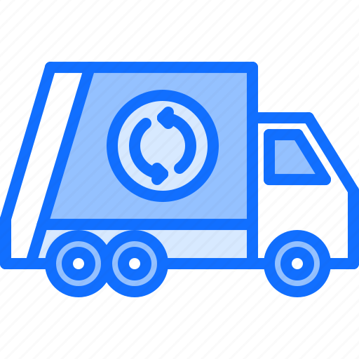 Car, eco, ecology, green, nature, trash, truck icon - Download on Iconfinder