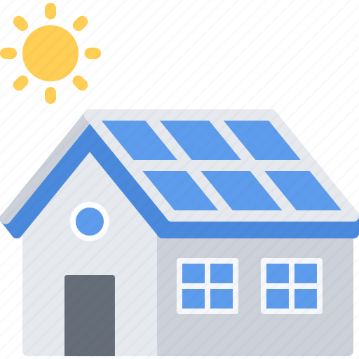 Eco, ecology, green, house, nature, panel, solar icon - Download on Iconfinder